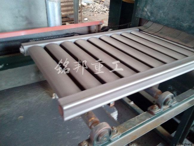 暖气片抛丸机除锈工艺图